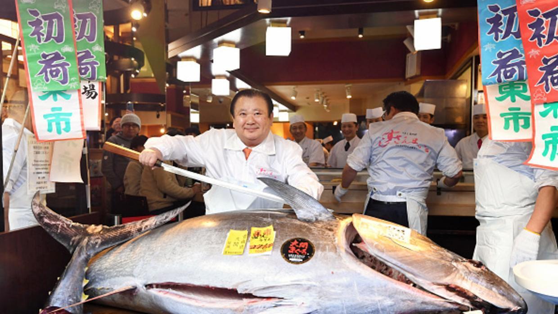 Giappone, tonno rosso venduto a 1 milione e mezzo di euro