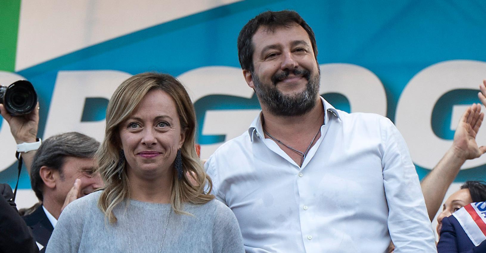 Sondaggio Demos: la Lega è il primo partito, sale Fratelli d'Italia