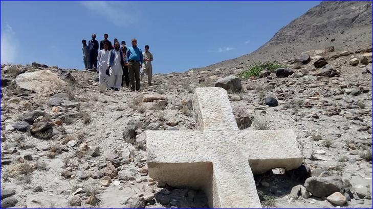 Una Croce cristiana di 1.200 anni fa è stata ritrovata in Pakistan