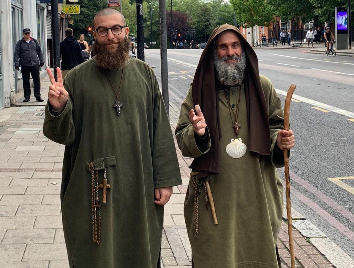 Biagio Conte in Inghilterra per un messaggio di pace e speranza