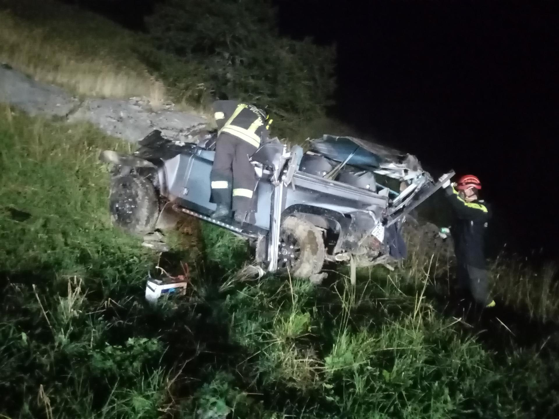 Auto precipita in un dirupo, 5 giovanissimi morti in provincia di Cuneo